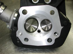 Buell Blast Head ported, oversized valves and chamber re-shaped